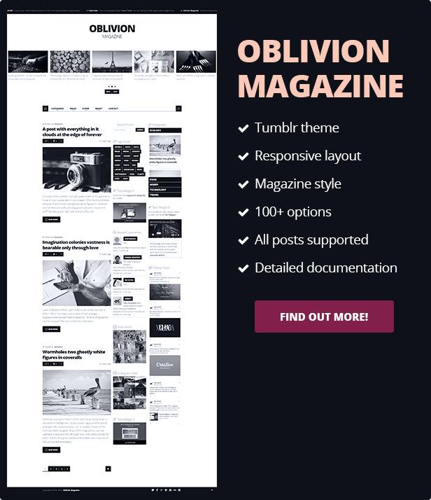 Oblivion Magazine